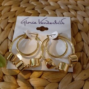 Earrings Gloria Vanderbilt
